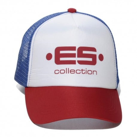 ES Collection Casquette Baseball Print Logo Rouge TU
