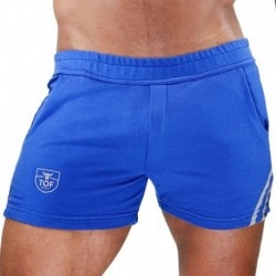 TOF Paris Short - Blue - Grey