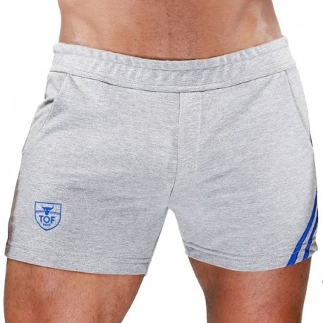 TOF Short Paris Gris - Bleu
