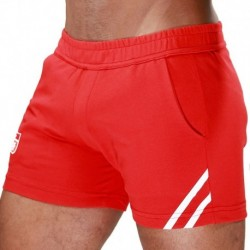 TOF Short Paris Rouge - Blanc