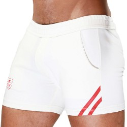 TOF Short Paris Blanc - Rouge