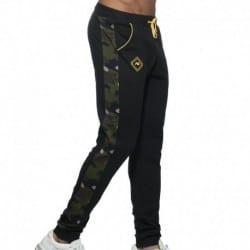 Addicted Sport Camo Pants - Black