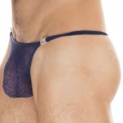 L'Homme invisible Axel Striptease Thong - Navy