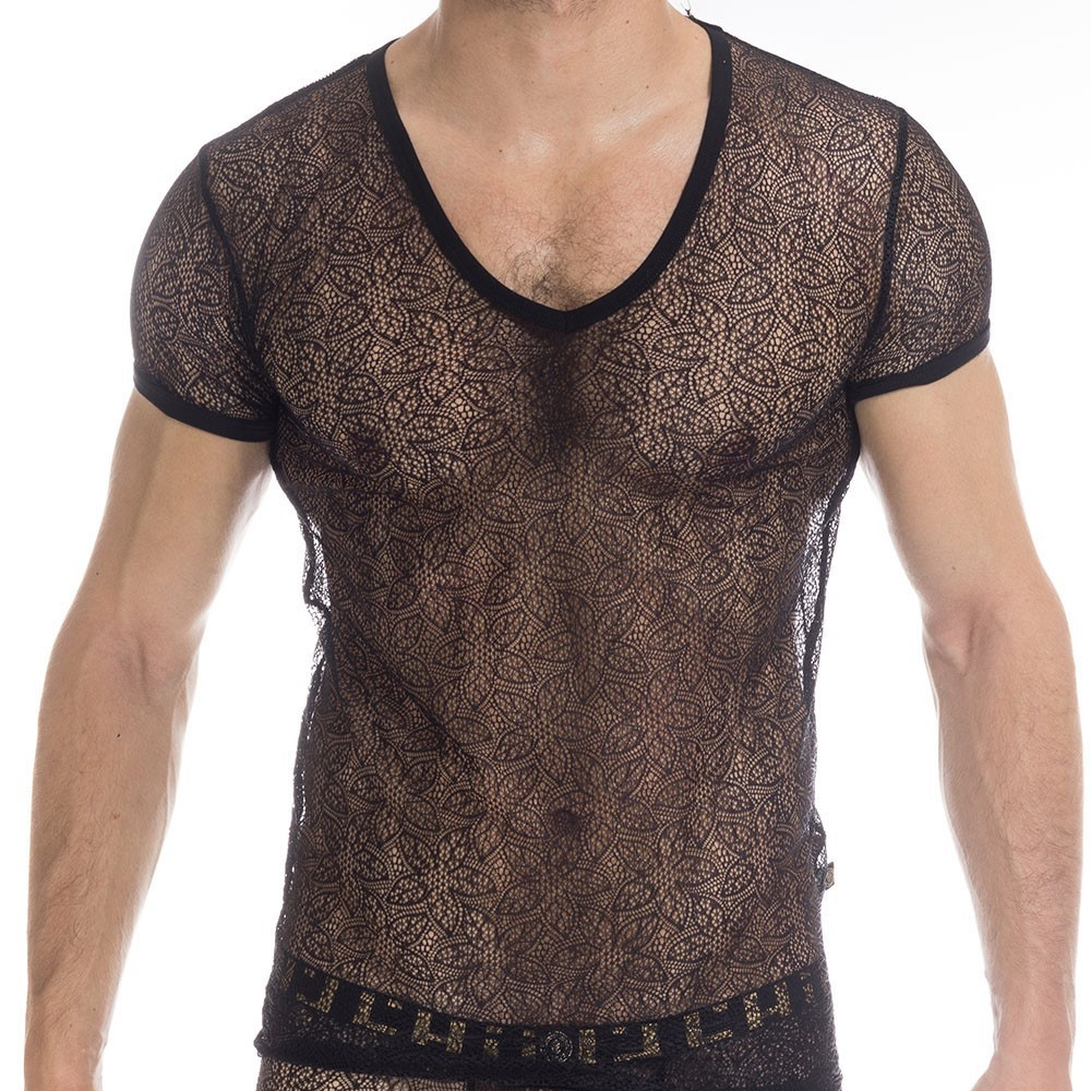 c204564a1b L Homme invisible Axel T-Shirt - Black