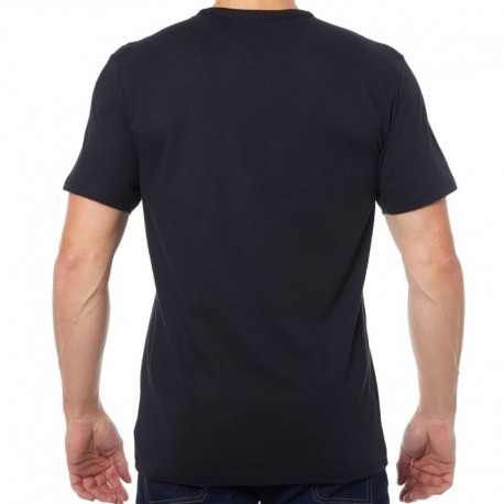 T-Shirt Comfort Cotton Logo Noir