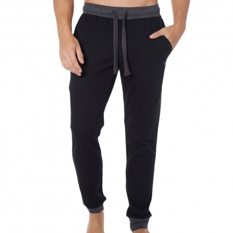 Pantalon Logomaniac Terry Noir
