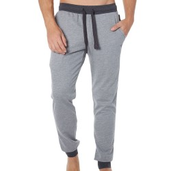 Emporio Armani Logomaniac Terry Pants - Heather Grey