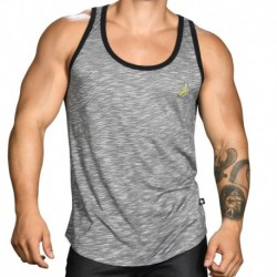 Andrew Christian Banana Rayon Jersey Tank Top - Grey
