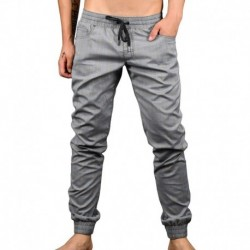 Andrew Christian Pantalon Jogger Highland Plaid Gris