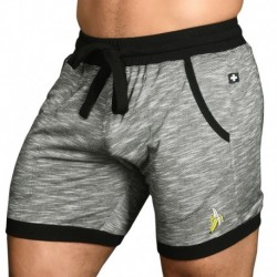 Andrew Christian Banana Rayon Jersey Short - Grey