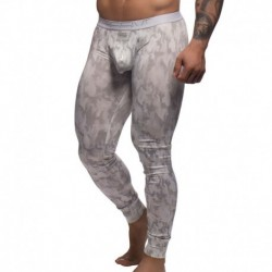 Andrew Christian Legging Massive Ice Queen Camouflage Blanc