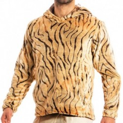 Modus Vivendi Sweat-Shirt Hoodie Tiger Sable