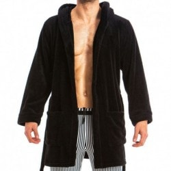 Modus Vivendi Tiger Bathrobe - Black