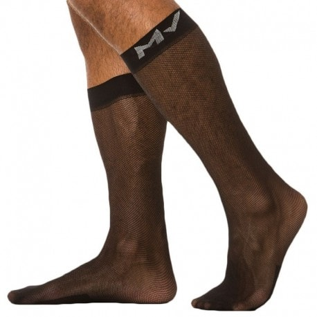 Modus Vivendi Chaussettes C-Through Noires