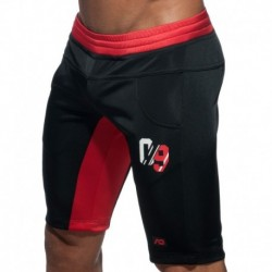 Addicted Sport 09 Knee Pants - Black