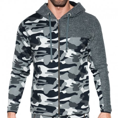 ES Collection Dystopia Combi Jacket - Grey Camo