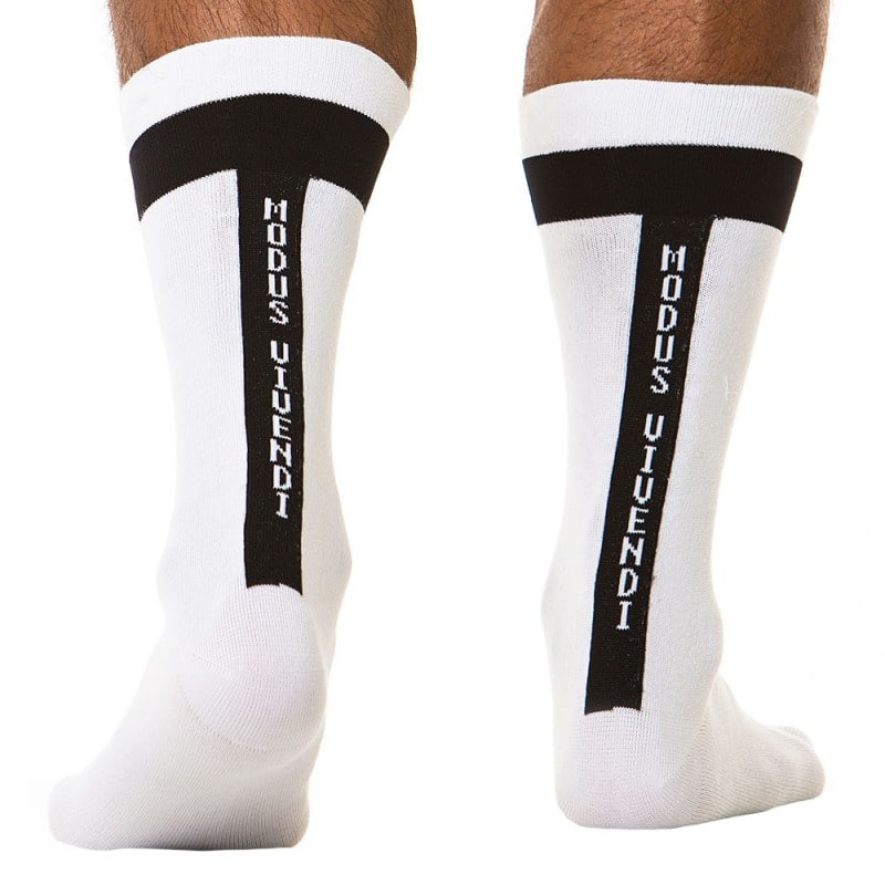Chaussettes Athletic Blanches