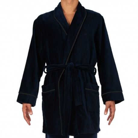 Yotha Bathrobe - Navy