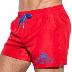 ES Collection Basic Boardshort - Red