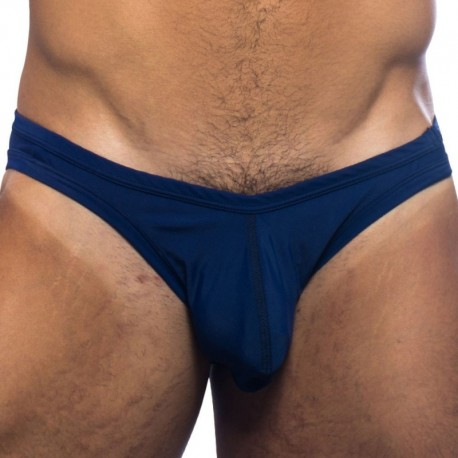 Andrew Christian Ultra Micro Bikini Swim Brief - Navy