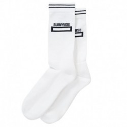 Surprise Chaussettes Square - Blanc