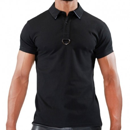 TOF Smart Polo - Black - White