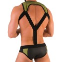 Perry Harness - Black - Yellow