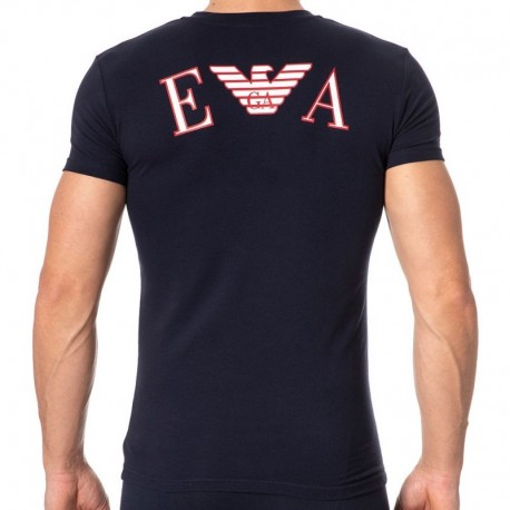 Emporio Armani Athletics T-Shirt - Navy