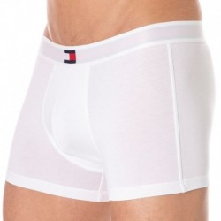 Tommy Hilfiger Boxer Flag Core Cotton Blanc