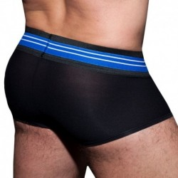 AD Fetish Boxer Double Stripe Noir - Royal