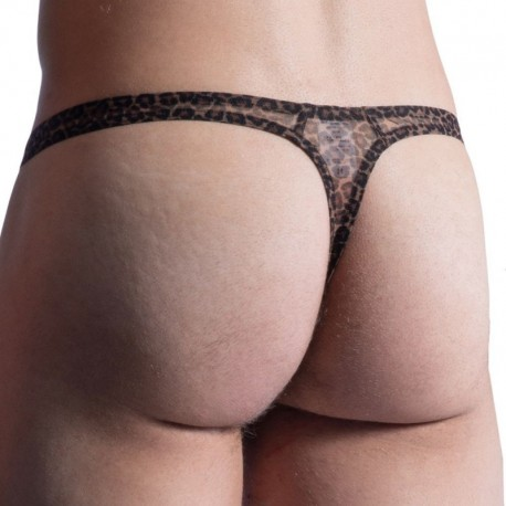 Manstore M855 Tower Thong - Leopard