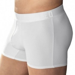 LEO Boxer Superior Fit Blanc