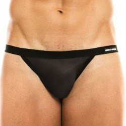 Modus Vivendi Slip Mini Tanga C-Through Noir