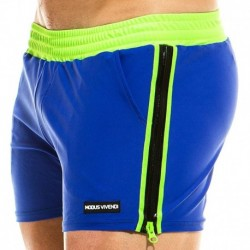 Modus Vivendi Mix & Match Zipper Swim Short - Royal