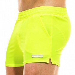 Modus Vivendi Mix & Match Swim Short - Neon Yellow