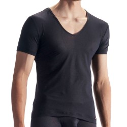 Olaf Benz T-Shirt V-Neck RED 1864 Noir