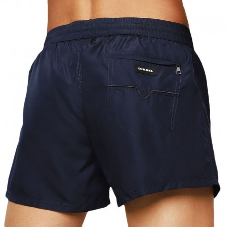 Diesel Short de Bain Fold and Go Marine