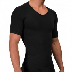 Rounderbum Seamless Compression T-Shirt - Black