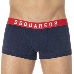DSQUARED2 Cotton Stretch Boxer - Navy