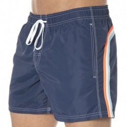 Sundek Rainbow Swim Short - Navy