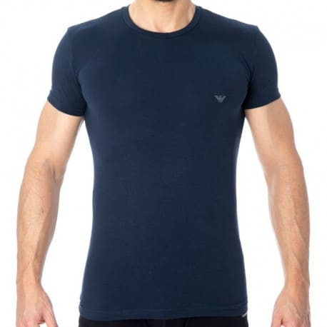 Emporio Armani Big Eagle T-Shirt - Navy