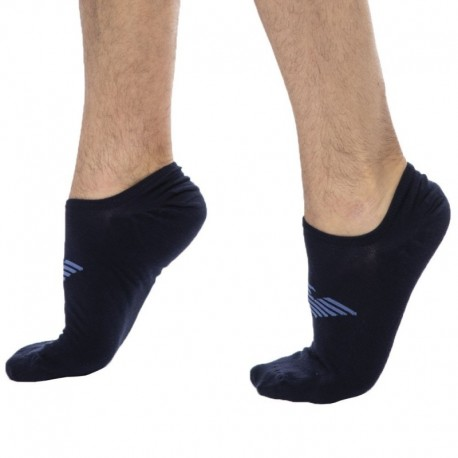 Emporio Armani Invisible Socks - Navy