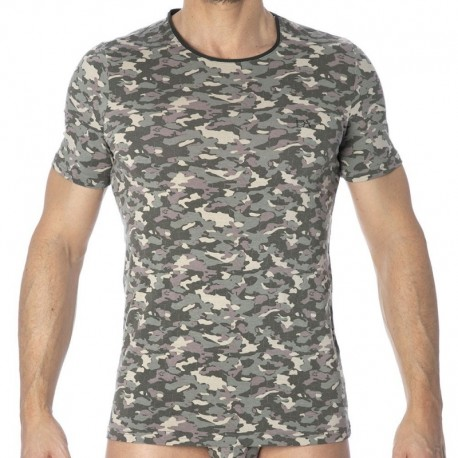 Doreanse T-Shirt Camouflage