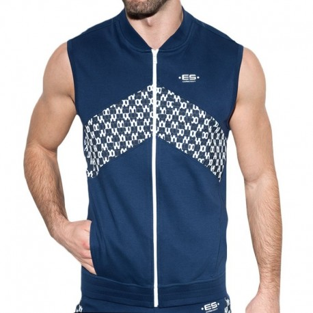 ES Collection Rally Jacket - Navy