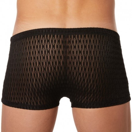 Lookme Diamond Boxer - Black