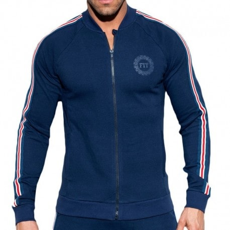 ES Collection FIT Tape Jacket - Navy