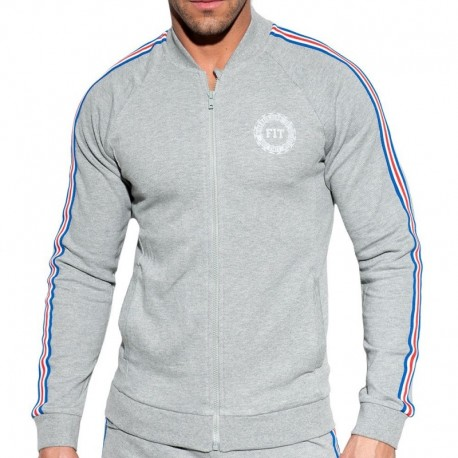 ES Collection Veste FIT Tape Grise