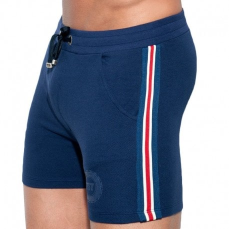 ES Collection Short Sport FIT Tape Marine