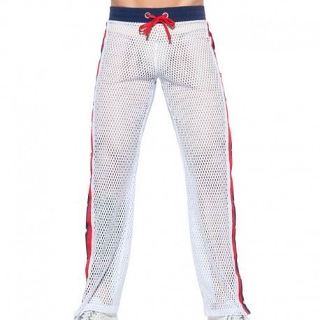 ES Collection Open Mesh Pants - White