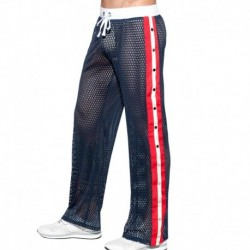 ES Collection Open Mesh Pants - Navy